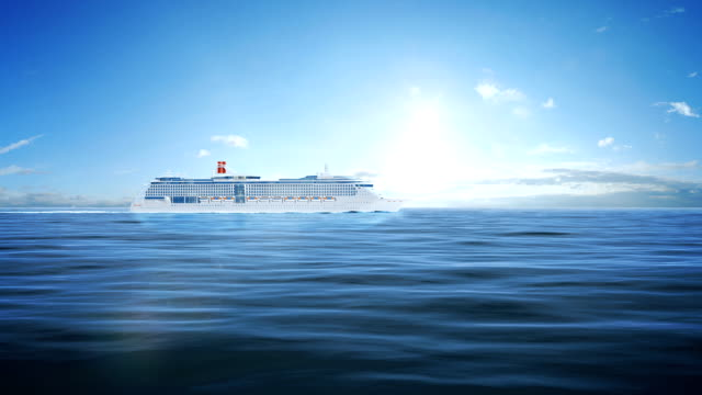 Cruise passenger ship video