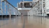 Cruise Ship Deck video