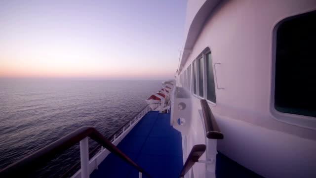 Cruise ship video