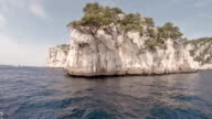 Cruising in Calanques area of Cassis video