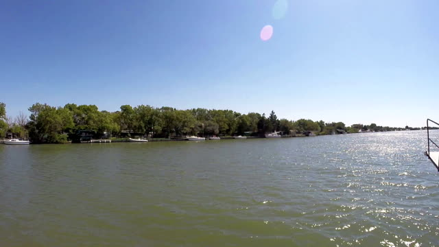 Cruising in Rhone river - Camargue - France video