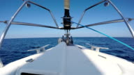 Cruising with sailboat video