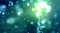 Crumpled Paper Background Loop - Aqua Glow (Full HD) video