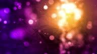 Crumpled Paper Background Loop - Purple Sunset (Full HD) video