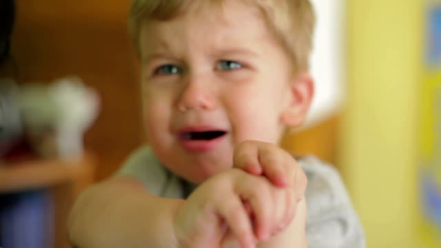 Crying baby video