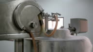 Cryogenic plant producing granolas video