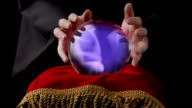 Crystal ball and wizard video