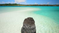 Crystal Clear Water Beach on Paradise Island video