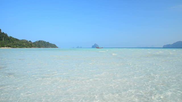Crystal Clear Water on Paradise Island Beach video