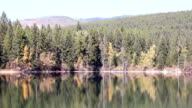 Crystal Mountain Lake Reflection video