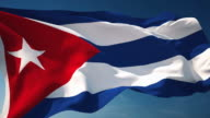 4K Cuba Flag - Loopable video