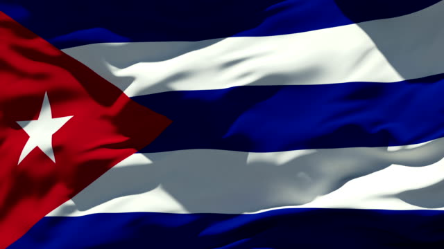 Cuba Flag video