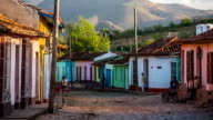 Cuba: Travel : Colourful houses in Trinidad video