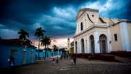 Cuba: Travel : Trinidad Historical Town Square video
