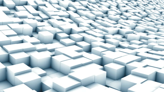 cube landscape white video