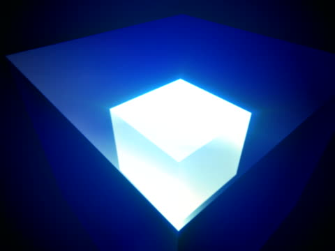 3D Cube video