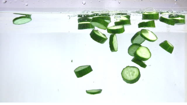 Cucumber in the water video
