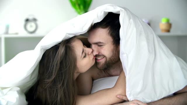 Cuddling Under Sheets video