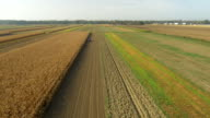 AERIAL Cultivating The Field video