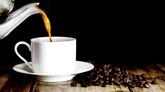 Cup of coffee video