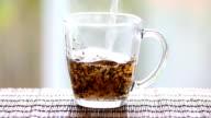 Cup of tea. video