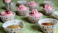 Cupcake decorating video