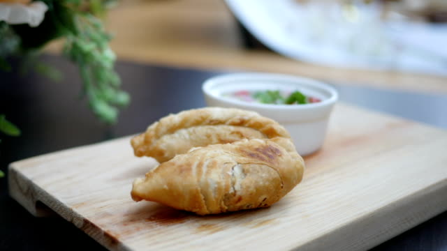 Curry puff pastry video