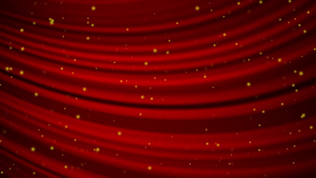 Curtain and flicker stars video