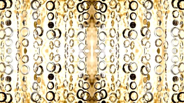 Curtain sparkle pattern video