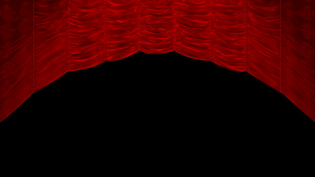 Curtain up, with beautiful cloth pattern video