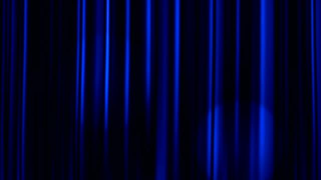 Curtains Open with Spotlights plus Alpha Luma Matte video