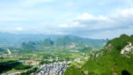 Custer landform, Guilin scenery, time lapse photography video