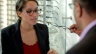 Customer care from an optician video