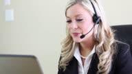 Customer Service Woman video