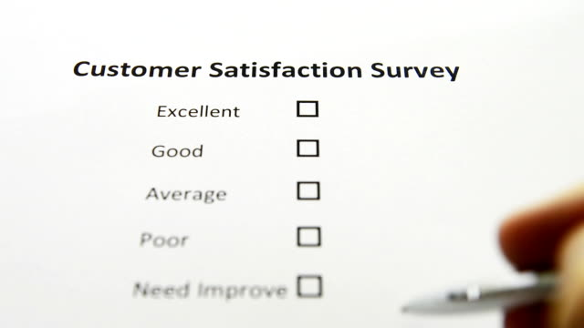 Customer Survey Voting video