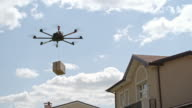 Customers Testing Drone Delivery Service video