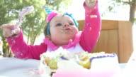 Cute Baby Girl's 1st Birthday video