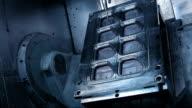 CNC Cutting A Machine Mould video