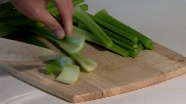 Cutting Celery video