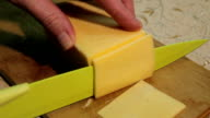 Cutting cheese video