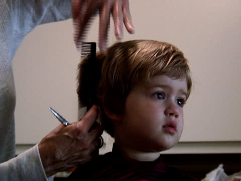 Cutting Child's Hair 1 video