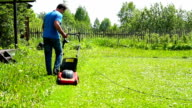 Cutting grass video