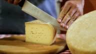 cutting italian cheese video