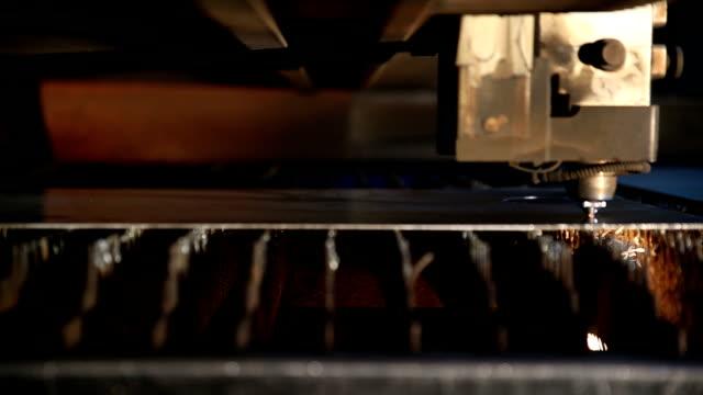 Cutting metal by plasma laser video