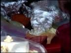 Cutting Open Baked Potato / Yam video