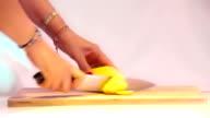Cutting Potatoes video