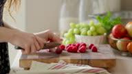Cutting Raspberries video