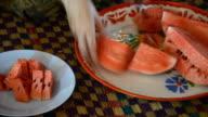 CuttingWatermelon video