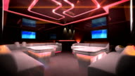Cyber led light of Club Room video