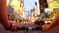 Cycling in Ginza, Tokyo -4K- video